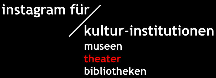 kurs instagram für theater